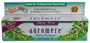 Mint-free Ayurvedic Toothpaste with Neem & Peelu - Suitable for People using Homeopathic Remedies