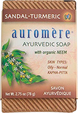 Sandalwood-Turmeric Soap