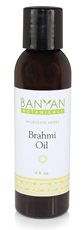 Brahmi Oil with both Gotu Kola and Bacopa