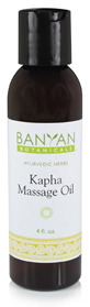 Massage Oil for Kapha Types:  Improves Circulation and Promotes Cleansing