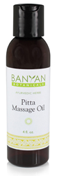 Massage Oil for Pitta Types: Cooling and Detoxifying